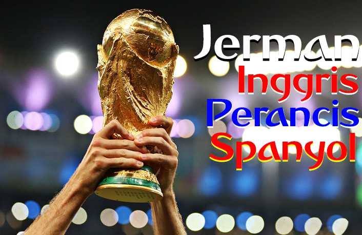 Willkommen! Pernik Unik Juara asal Eropa di Piala Dunia 2018