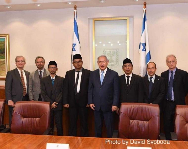 Gus Yahya Bertemu PM Israel Benyamin Netanyahu