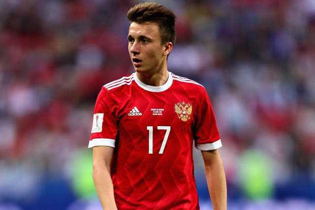 Bakat Terbaik Rusia Bernama Aleksandr Golovin