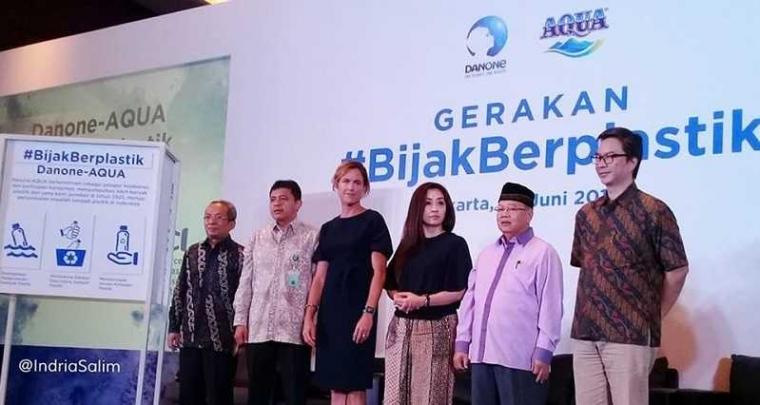 Danone-AQUA Mengundang Masyarakat Indonesia Dukung Gerakan #BijakBerplastik