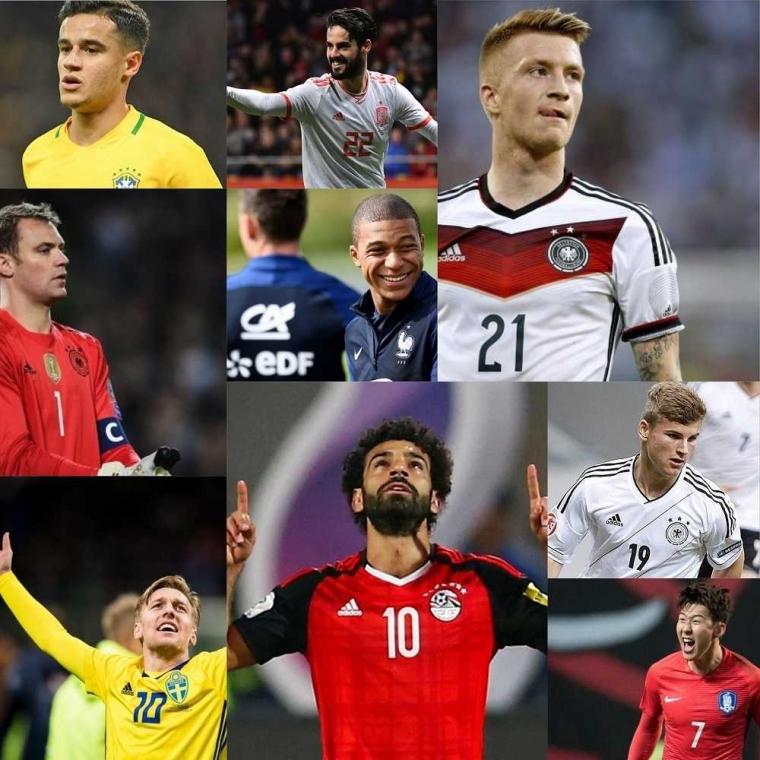 10 Pemain yang Layak Dinantikan Saat Piala Dunia 2018