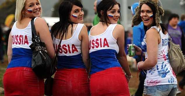 Senyuman dan Ultras Rusia
