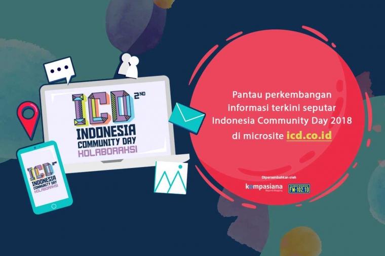 Telusuri Microsite Indonesia Community Day 2018, Agar Tak Ketinggalan Informasi Terkininya!
