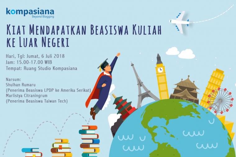Yuk Ikutan Ngoplah dan Ketahui Kiat Dapatkan Beasiswa Kuliah ke Luar Negeri