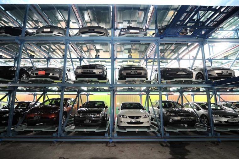Lift Hidrolik, Solusi dalam Menangani Lahan Parkir Mobil yang Terbatas