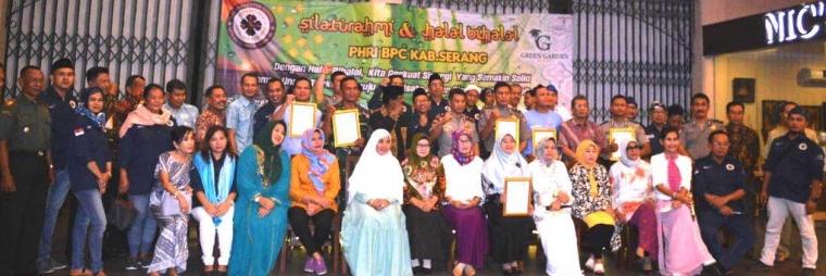 Silaturahmi dan Halalbihalal PHRI BPC Kab Serang dengan Semua Unsur Terkait