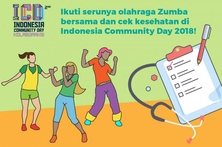 Yuk, Olahraga Zumba Bareng di ICD 2018!