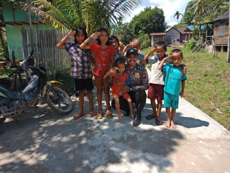 Pendekatan Polisi kepada Anak-anak