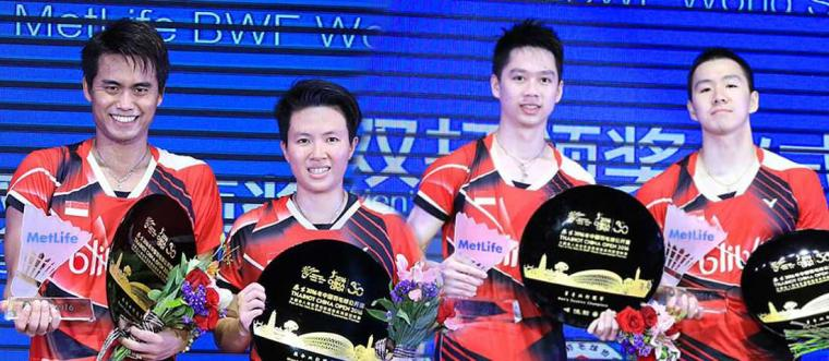 Pastikan Dua Wakil di Final Indonesia Open 2018
