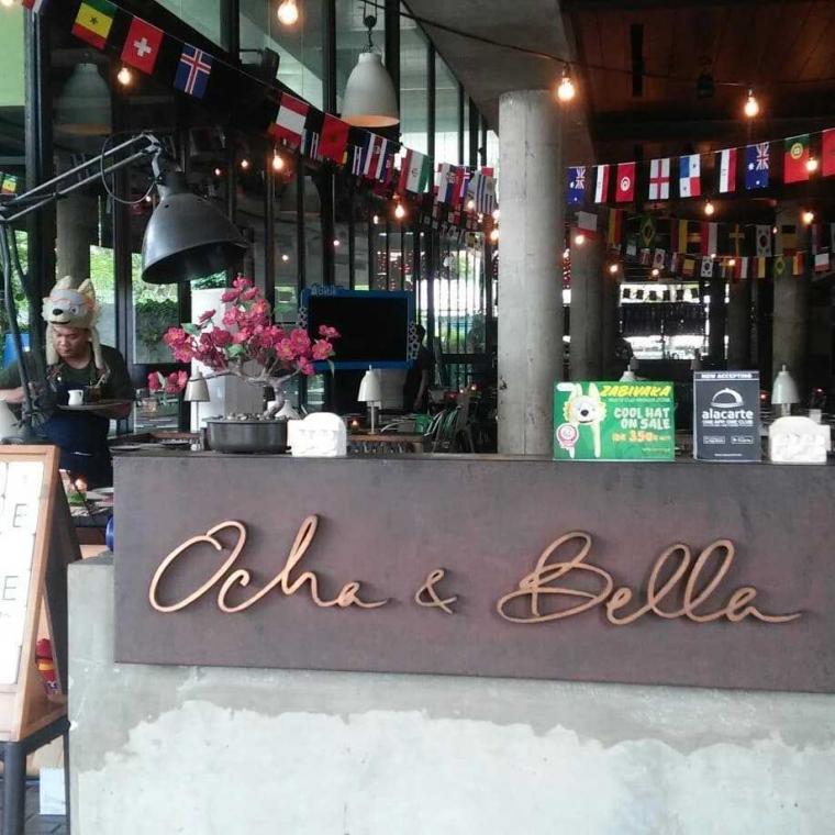 Ayo Nonton Bareng Piala Dunia di Restaurant Ocha & Bella