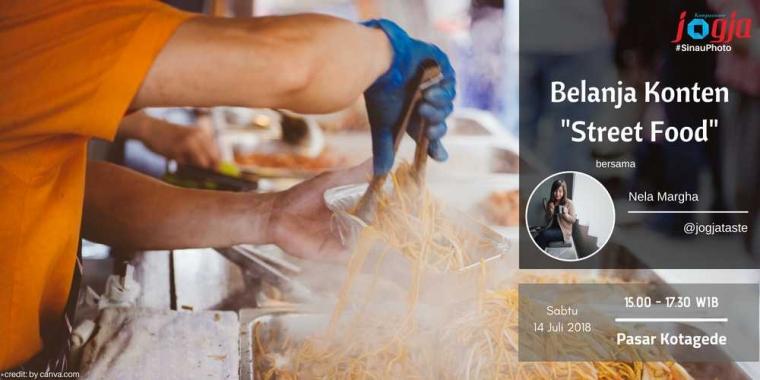 """[KJOG] Isi Akhir Pekan dengan #BelanjaKonten """"Street Food"""" bareng Nela Margha JogjaTaste"""
