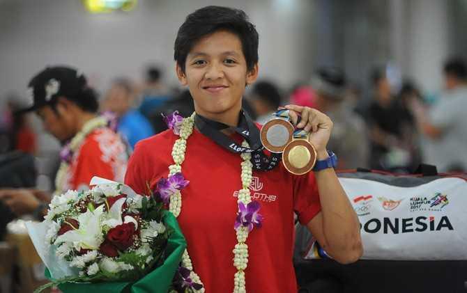 Elga Kharisma Novanda, Berpacu Melawan Cedera Demi Medali Emas Asian Games 2018