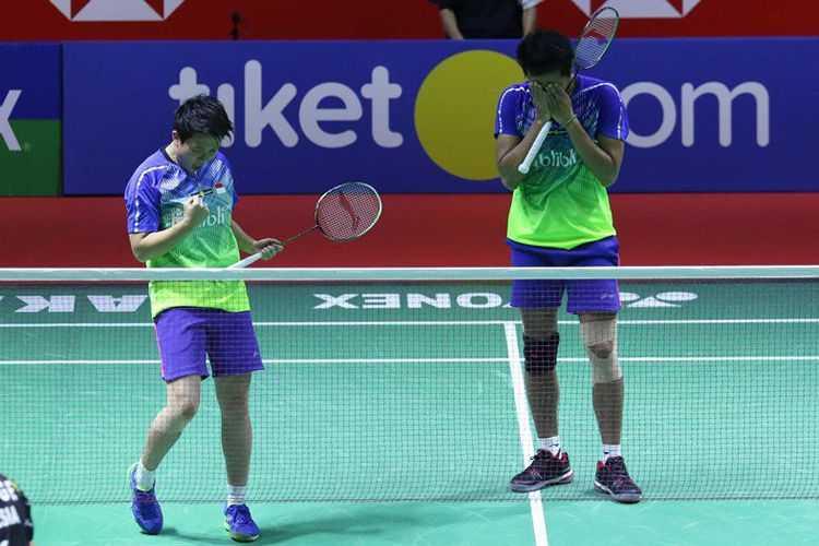 Kalahkan Wakil Malaysia, Tontowi/Liliyana Juara Indonesia Open 2018