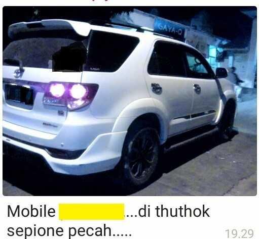 Proses Hukum Pelaku Onar dan Perusakan Mobil di Banyutengah!