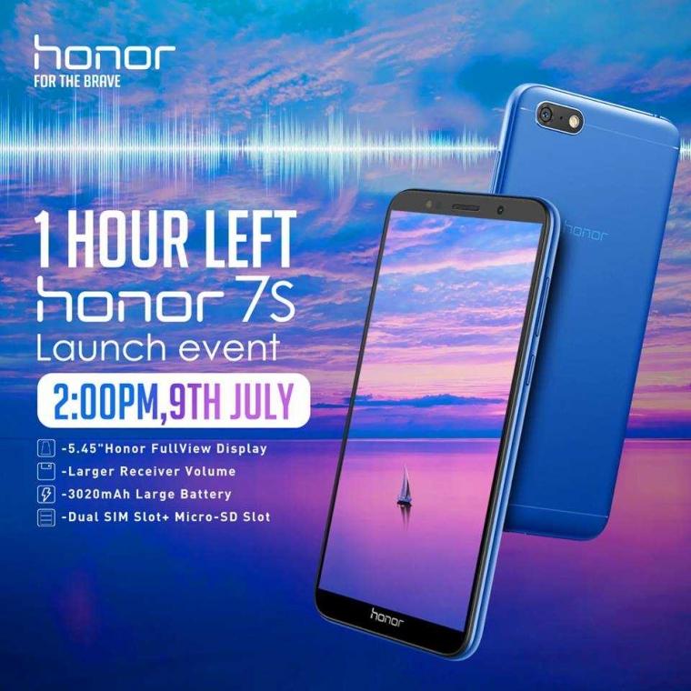 Honor 7S Mendarat di Indonesia, Gimana Spesifikasinya?