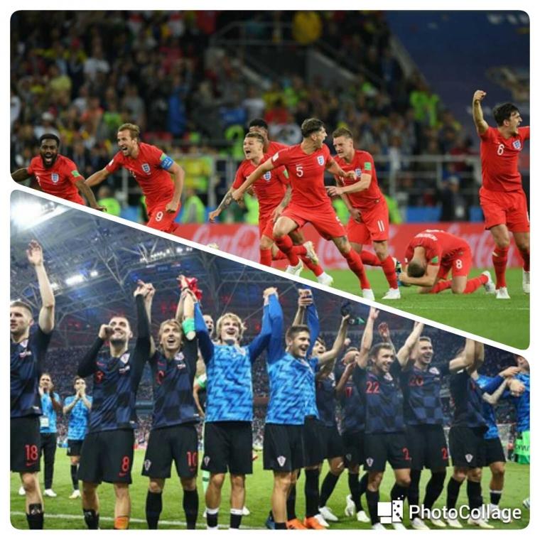 Inggris Vs Kroasia, Memperebutkan Sejarah Final Pertama?