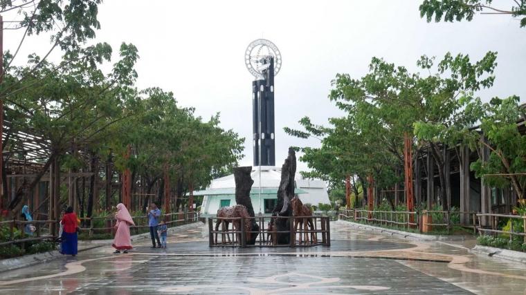 Menelusuri Tugu Khatulistiwa di Kota Pontianak, Kalimantan Barat