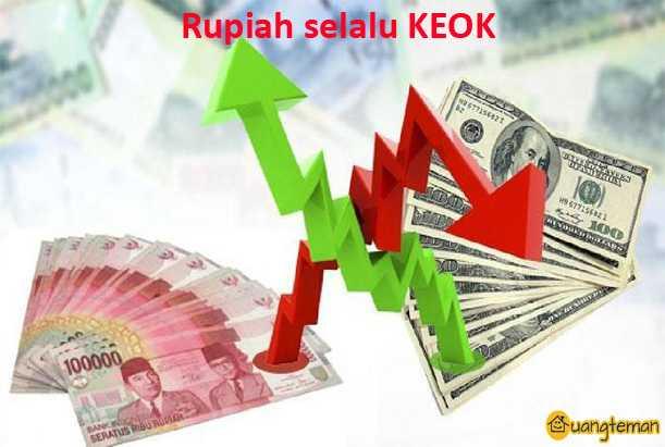 Dolar AS Sudah Lambung Mencapai 14 Ribu Rupiah