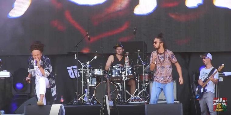 """""""Salam"""" Reggae dari Ras Muhamad dalam Summer Jam di Cologne, Jerman"""