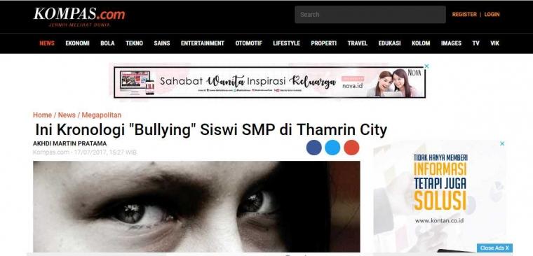 Merisak Atau Perundungan yang Pantas Digunakan Sebagai Padanan Kata Bullying dalam Bahasa Indonesia