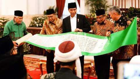 Presiden Joko Widodo: Al Quran Mengandung Pedoman Islam Jalan Tengah