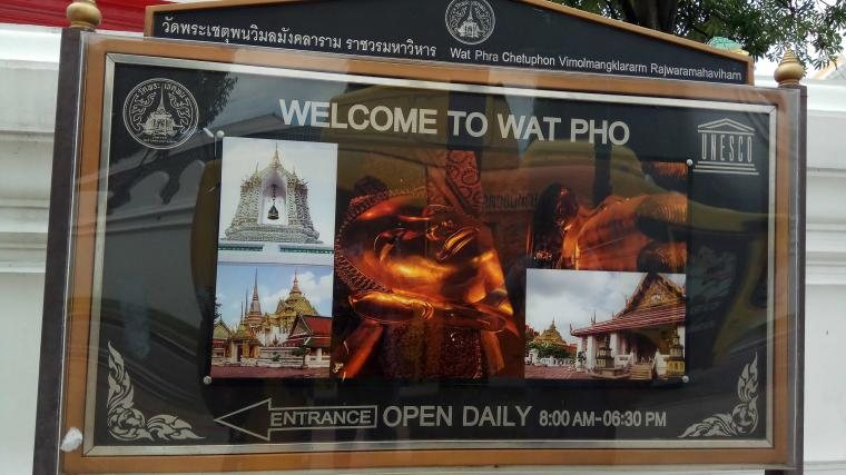 """What did I See at Wat Pho?"""