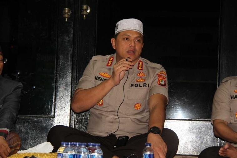 Peringati HUT Bhayangkara ke-72, Polres Metro Jakarta Barat Gelar Tasyakuran dan Doa bersama Anak Yatim