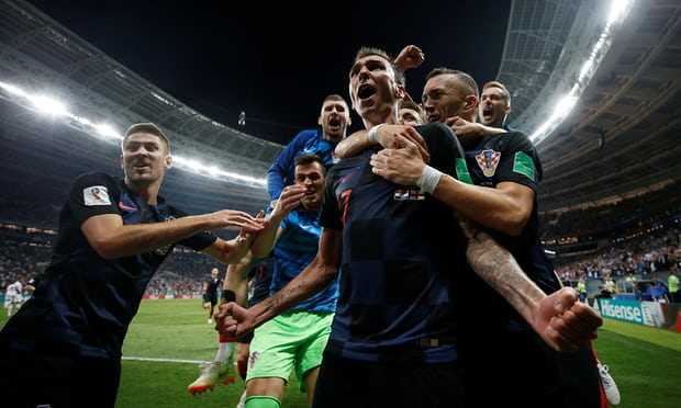 Kemenangan Kroasia, Kemenangan Kekuatan Mental