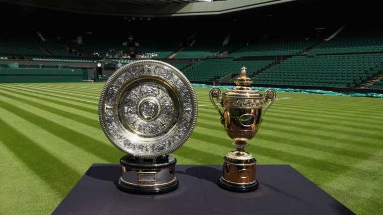 """Tumbangnya Juara Bertahan """"Federer-Muguruza"""" Serta Uniknya Wimbledon"""