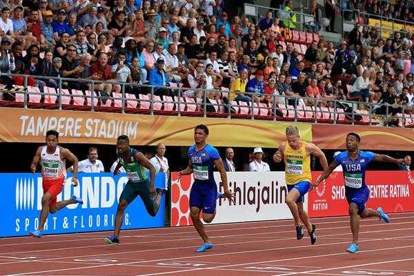 """Sejarah Indonesia! """"The Dope Z""""Lalu Muhammad Zohri, Rebut Emas 100 Meter Kejuaraan Dunia Atletik U-20"""