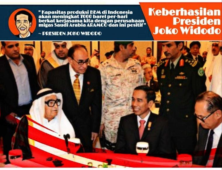 Jalin Persahabatan dengan Saudi Arabia, ARAMCO Akan Investasi Besar-besaran di Sektor Migas