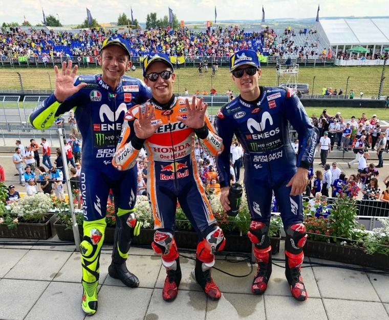 Marc Marquez Menang Mudah di MotoGP Sachsenring