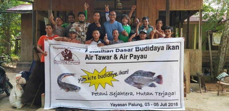 """""""Yum Kite Budidaye Ikan"""", Petani Sejahtera dan Hutan Terjaga"""