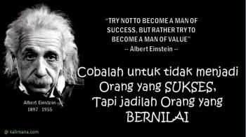 Kata Bijak Albert Einstein Tentang Kehidupan Cikimm Com