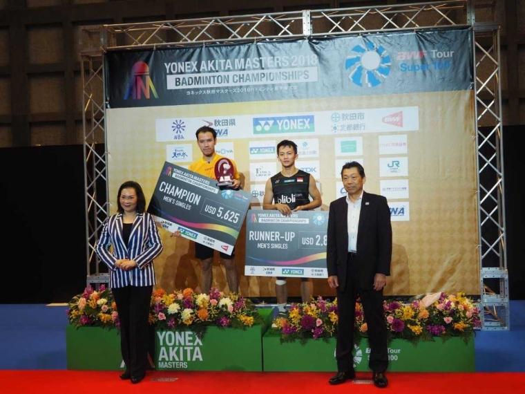 Beda Nasib Indonesia dan Jepang di Dua Turnamen Super100