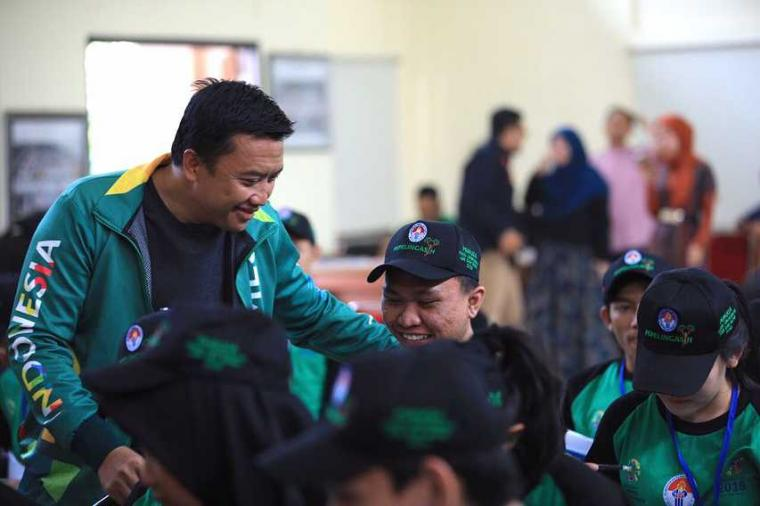 Perhatian Pemerintah untuk Atlet, Energi Bagus Sambut Asian Games 2018