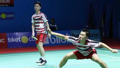 Marcus/Kevin Tumbang di Kejuaraan Dunia Bulu Tangkis 2018