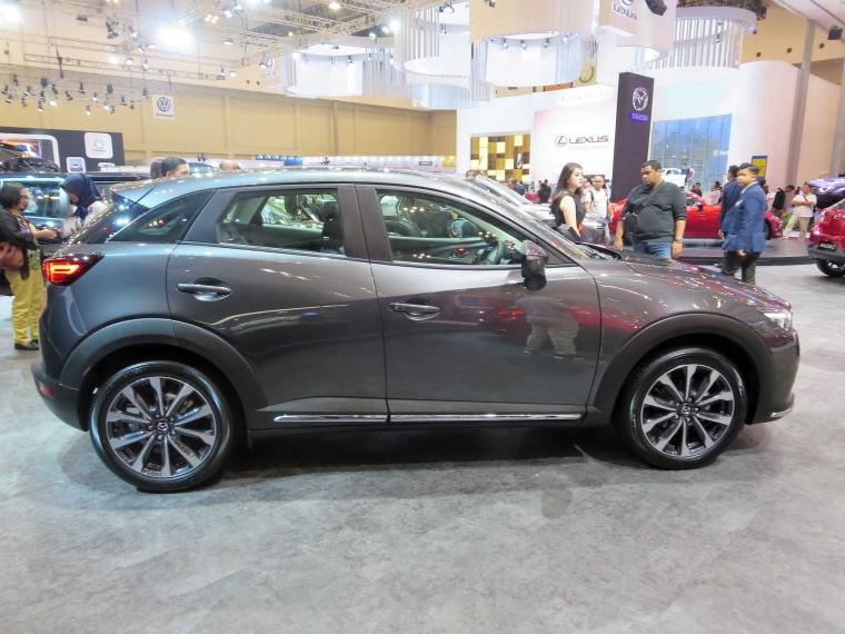 New Mazda CX-3, Mobil Aman Bertabur Fitur Premium