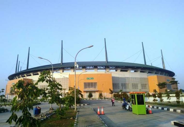 Stadion Pakansari Cibinong Bersolek Demi Asian Games 2018