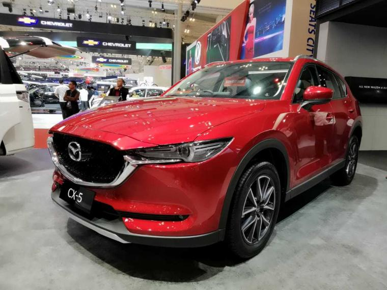 Pengalaman Test Drive Mazda CX-5 di Pameran GIIAS 2018