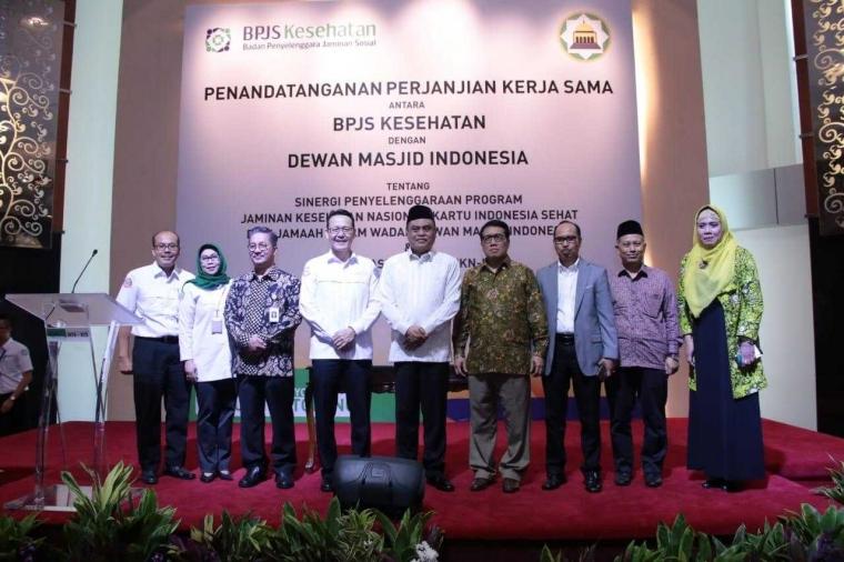 """Untuk Kemaslahatan Umat, Dewan Masjid Indonesia Dukung BPJS Kesehatan Capai """"Universal Health Coverage"""""""