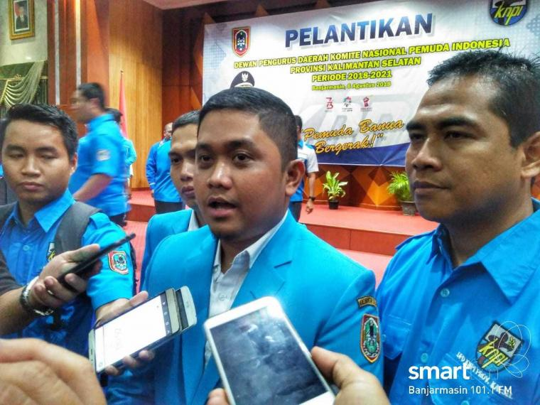Kepengurusan DPD KNPI Kalsel 2018-2021 Resmi Dilantik