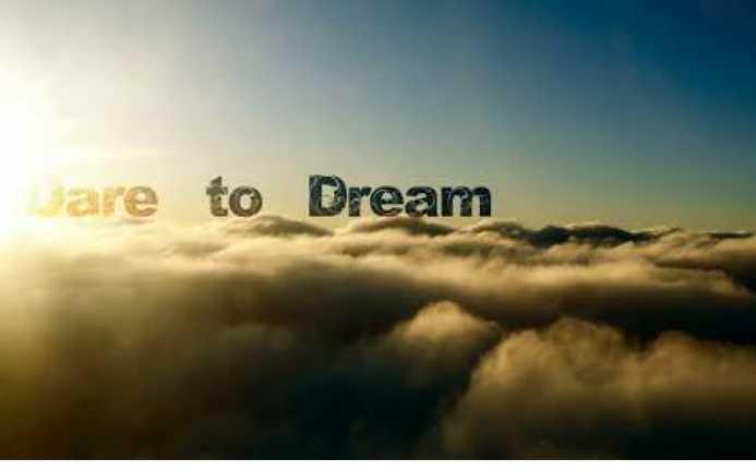Bermimpi adalah Energy untuk Kehidupan