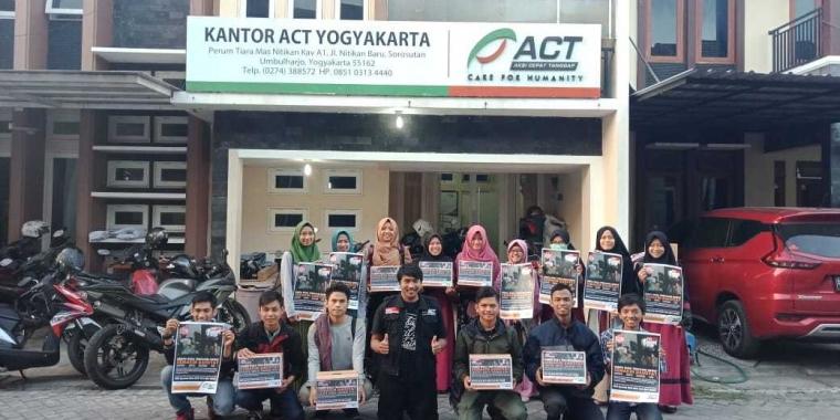 Penggalangan Dana dari ACT Yogyakarta untuk Lombok
