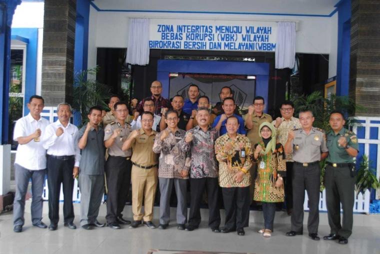KPPN Pangkalpinang Tetapkan Zona Bebas Korupsi dan Birokrasi Bersih