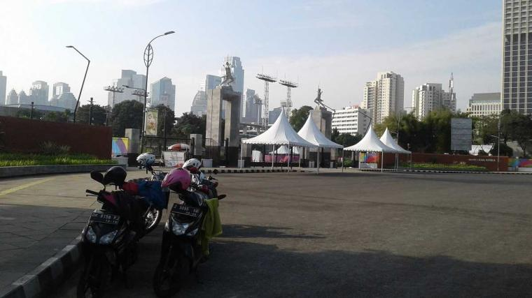 Suasana GBK Jelang Asian Games 2018