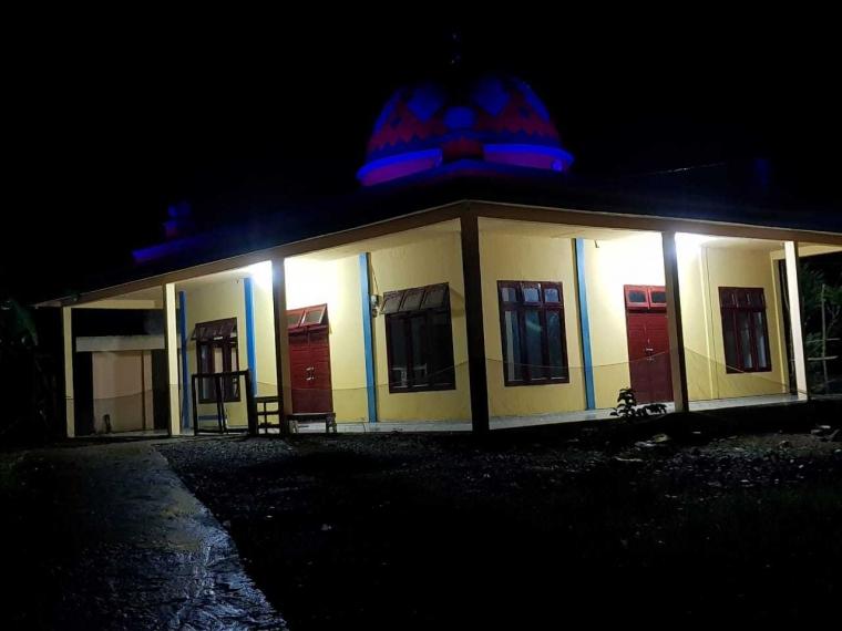 Bripka Dusman Ajak Masyarakat Perumahan Griya Atmani Wedhana Bangun Masjid