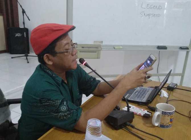 Pelatihan Pembuatan Vlog di Balai Litbang LHK Makassar