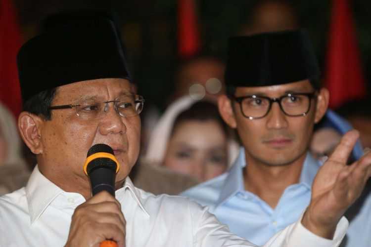 Mengapa Prabowo Pilih Sandiaga pada Pilpres 2019?