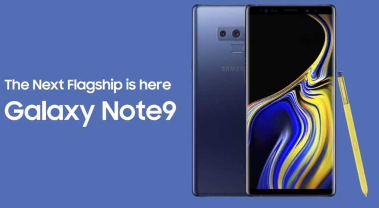 Spesifikasi Samsung Galaxy Note 9